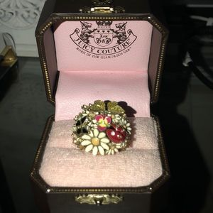 NWT Juicy Couture Garden Party Ring